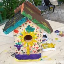 Оцветяване на къщички